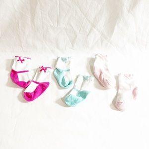 3 for $20 🔥 Ballerina Baby Socks Size 0-6M 3pair